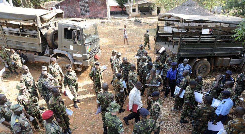Soldats en Afrique