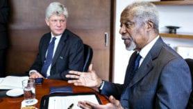 Kofi Annan se félicite des engagements du G7 en faveur du climat