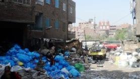 Recyclage des ordures en Égypte: gagner sa vie sur l'autel de la santé