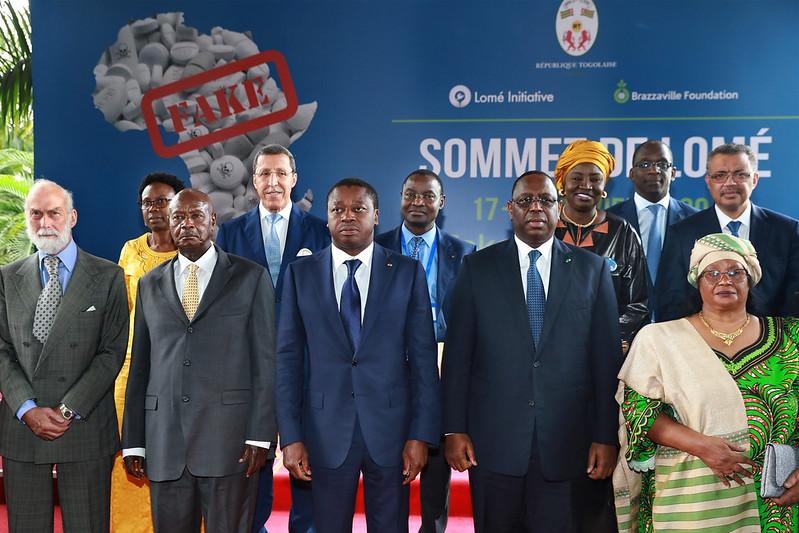 Lomé Summit on Fake medicines
