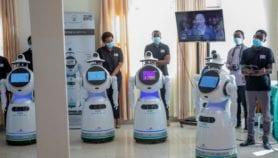 COVID-19 : Des robots pour assister le personnel soignant au Rwanda