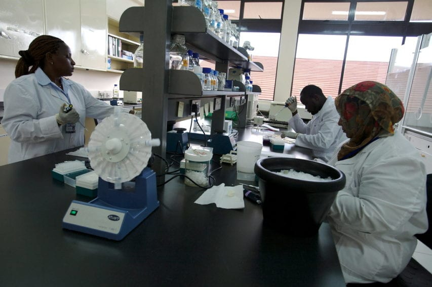 African researchers