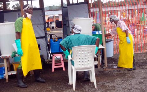 Ebola treatment center