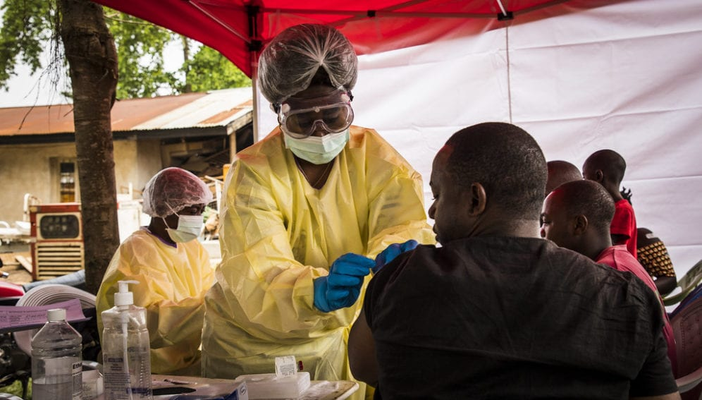 """""""DRC: A Trip to the Front Lines of the Fight Against Ebola"""" by World Bank Photo Collection is licensed under CC BY-NC-ND 2.0"""