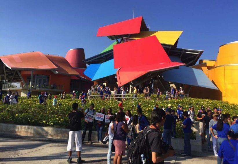 El innovador Biomuseo, en la capital panameña, ofreció actividades en el marco de la Marcha de la Ciencia.