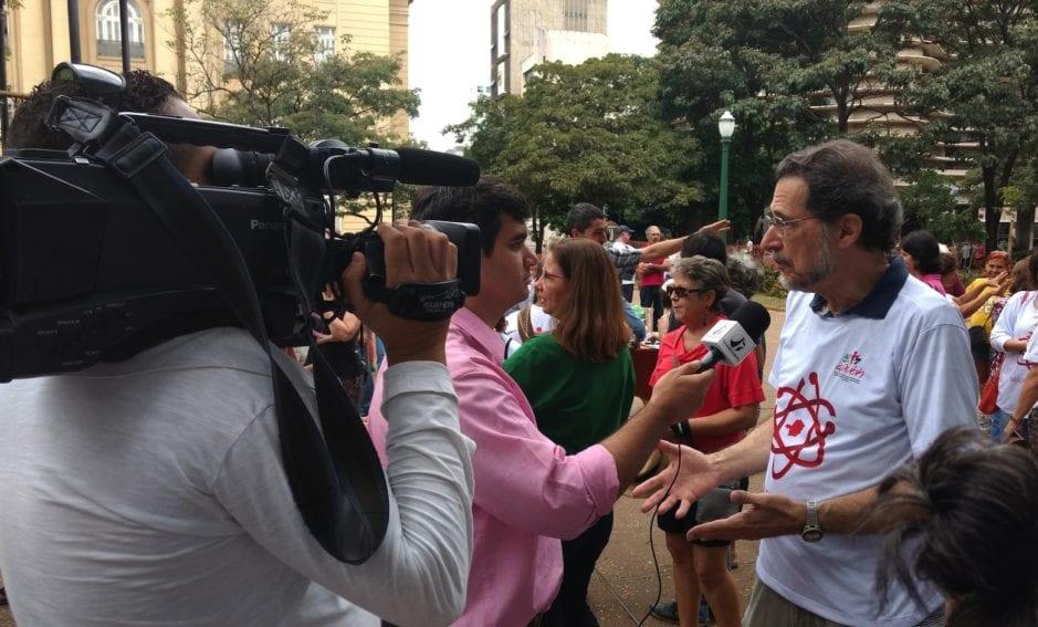 Bello Horizonte fue una de las 25 ciudades de Brasil que se unieron a la iniciativa mundial, y convocaron la atención de la prensa.