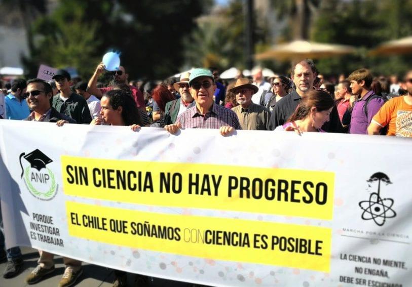 En Chile, Santiago fue una de las siete ciudades del país donde se realizó la marcha.