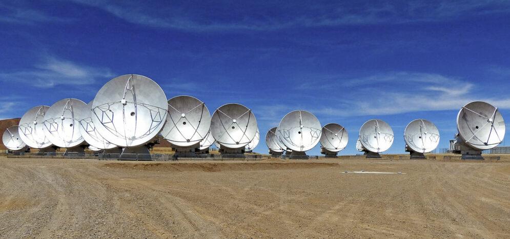 Alma Antenas ESO