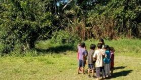Niños Chimanes en Bolivia: bajo uso de ayuda estatal para escolares