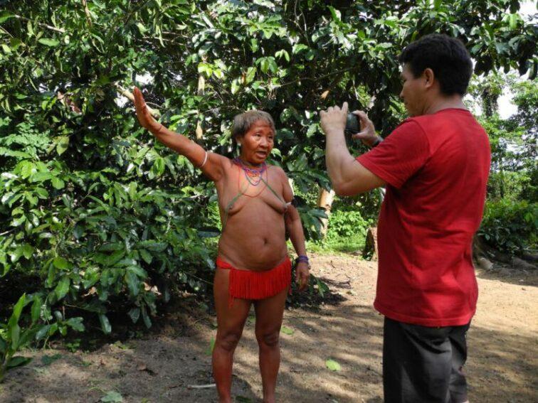 Mariazinha Yanomami speaks