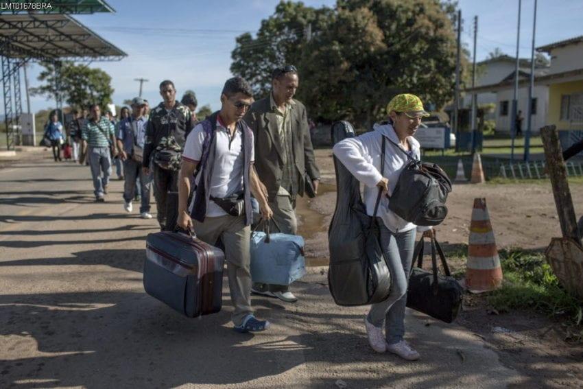 panos migrantes venezolanos
