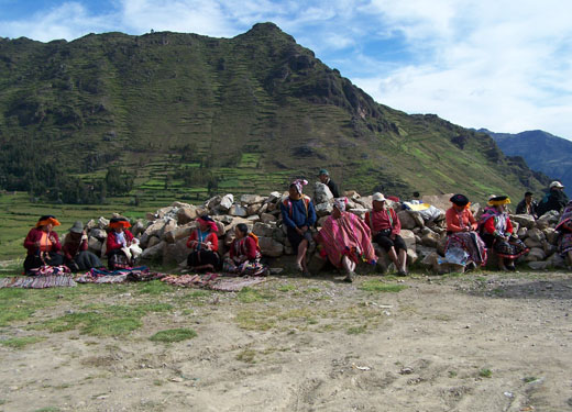 Es hogar de seis comunidades quechuas.