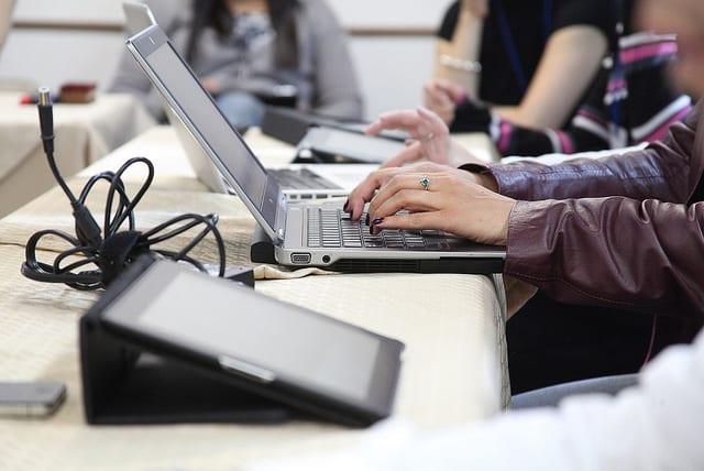 tablet y computadora