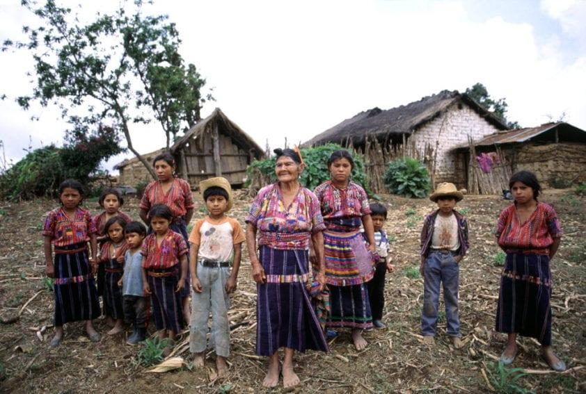 Familia Cakchiquel