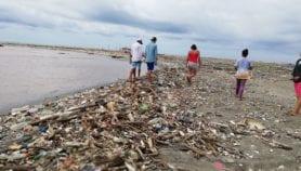 Microplásticos también en playa protegida de Guatemala