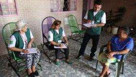 Trabajadores comunitarios de salud de Brasil en serio riesgo
