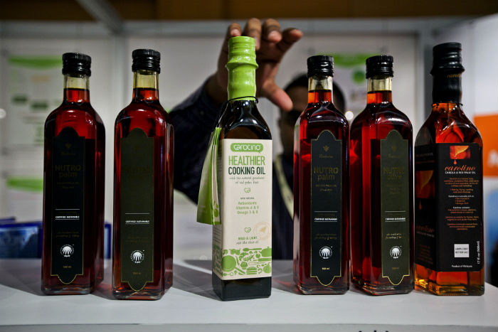 palm oil products made from sustainable means