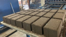 Bricks from volcanic ash — a blessing in disguise