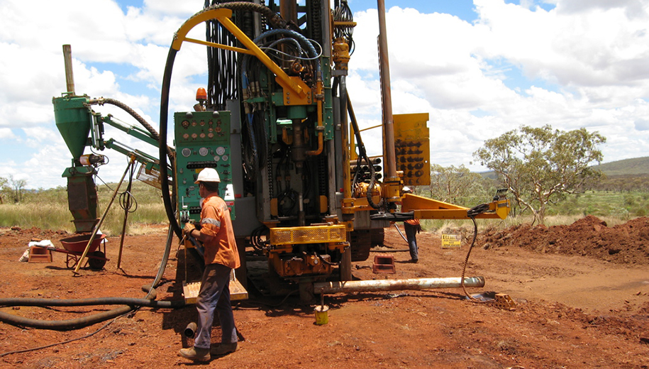 Australia drill rig - main