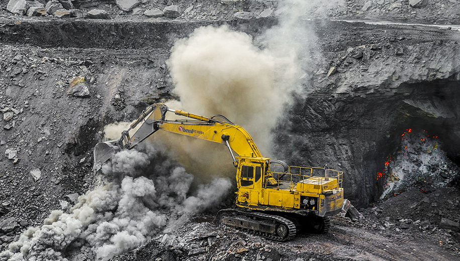 Jharkhand coal mining - main