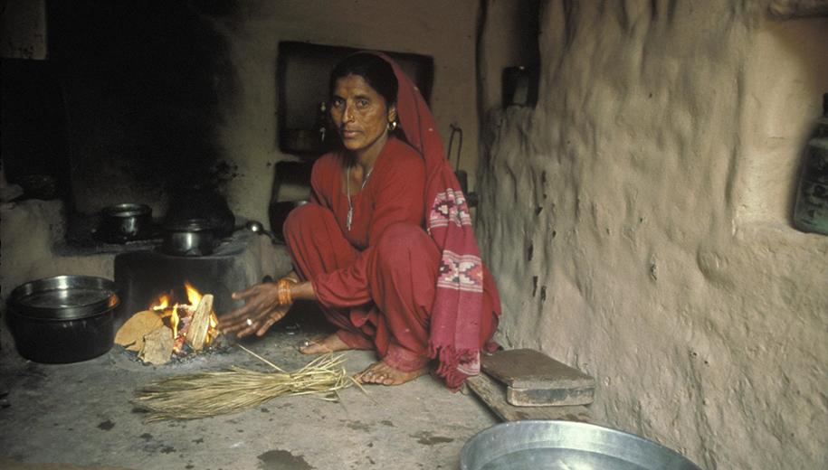 wood burning stove - main