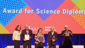 SESAME gets science diplomacy award, goes solar
