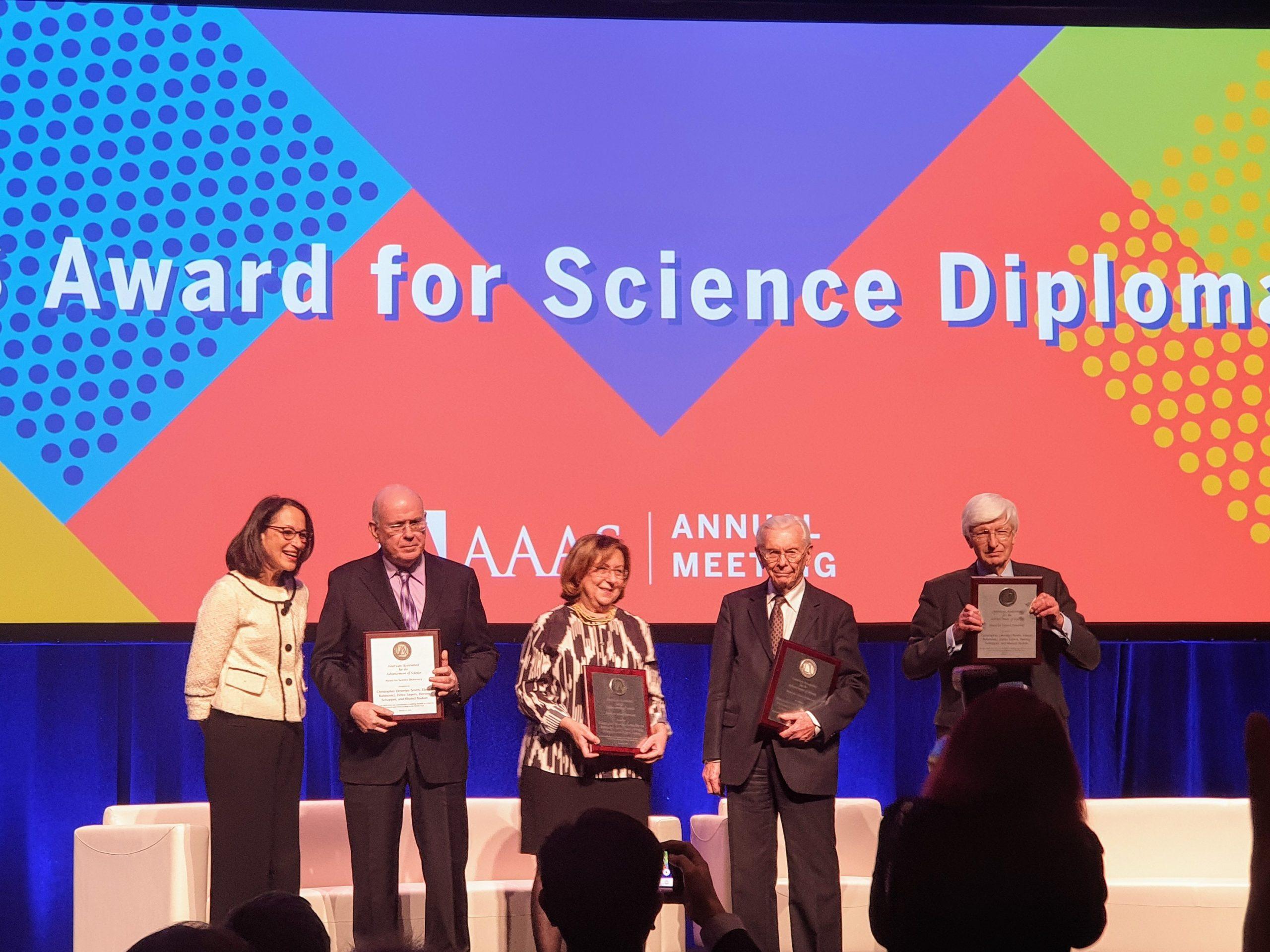 SESAME gets science diplomacy award, goes solar