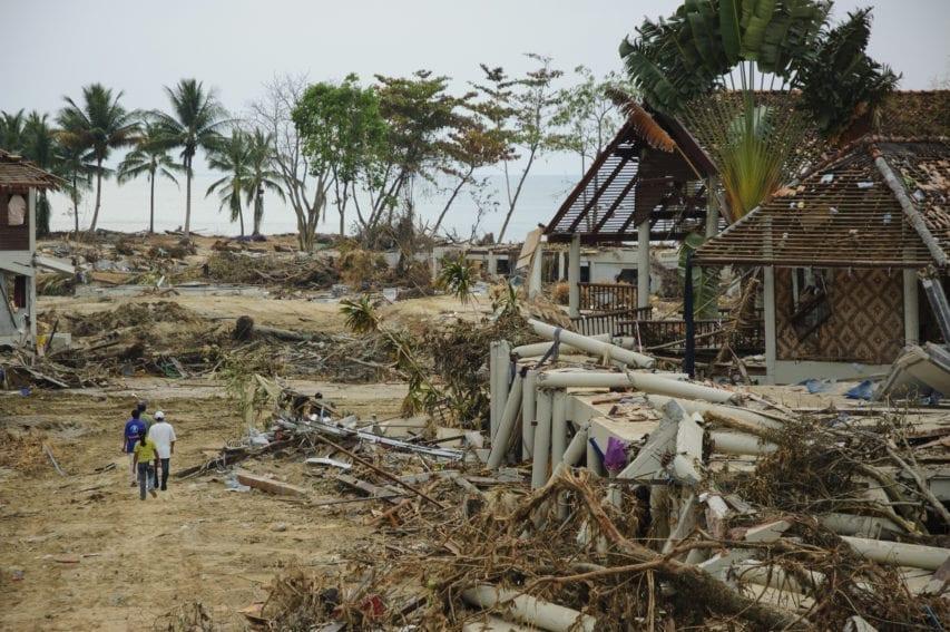 Tsunami 2004 Thailand