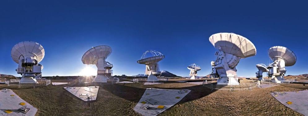 chile telescope