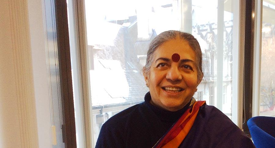 Indian scholar Vandana Shiva