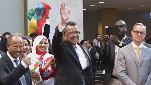 Tedros WHO Director General