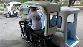 Rickshaw gets upgrade with hemp sidecar