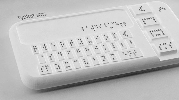 Braille smartphone_Sumit Dagar