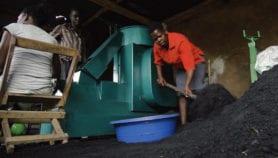 Ugandan develops cooking fuel to save trees