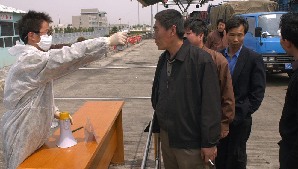 China truck drivers - main