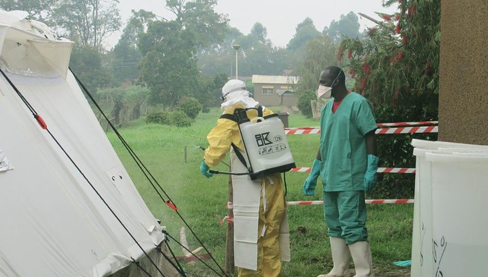 Ebola outbreak in DRC - Main