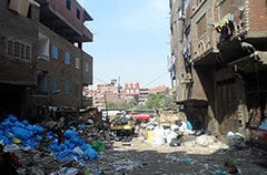 Garbage recycling in Egypt: Trading health for livelihood