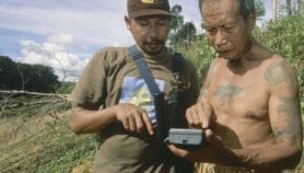 Forest communities map their land using data loggers