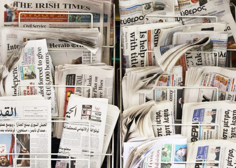Global Science Journalism Report Newspapers