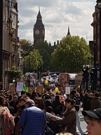 UK: London hosted an estimated 10,000 people on the march, with several thousands attending a rally in Parliament Square.