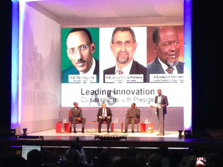 Nick Perkins at the inaugural Africa Innovation Summit