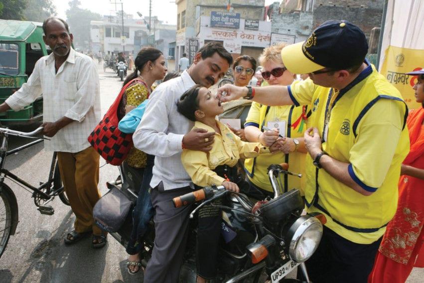 Polio double vaccine