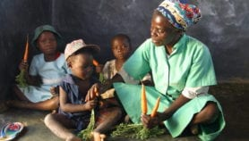 Tapping into local resources to curb malnutrition