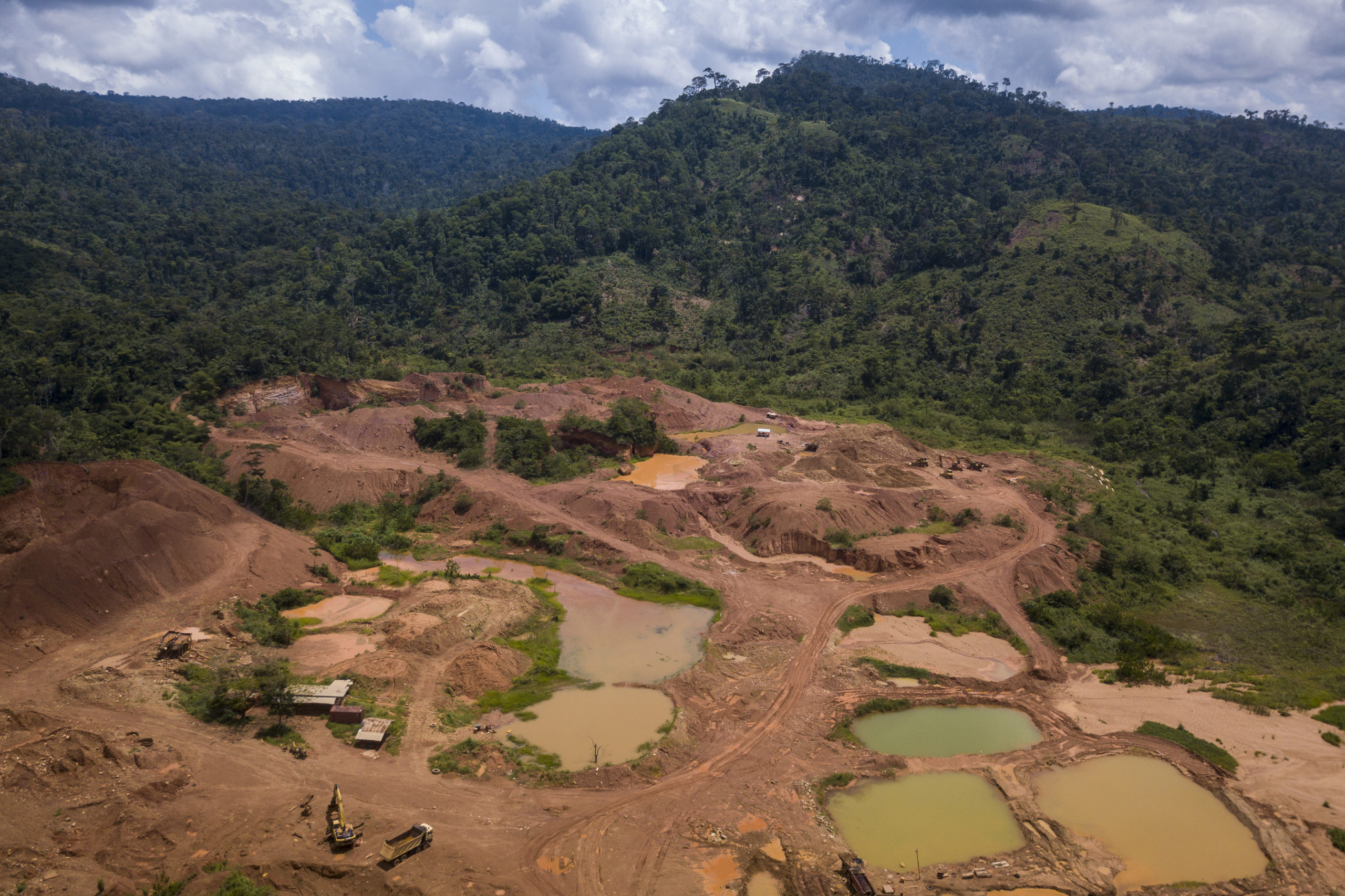 Satellite imagery helps Ghana fight illegal mining