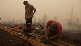Carbon emissions from Indonesia forest fires hit new high