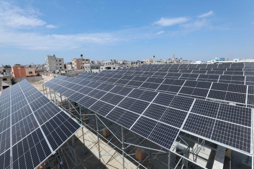 Solar energy Gaza