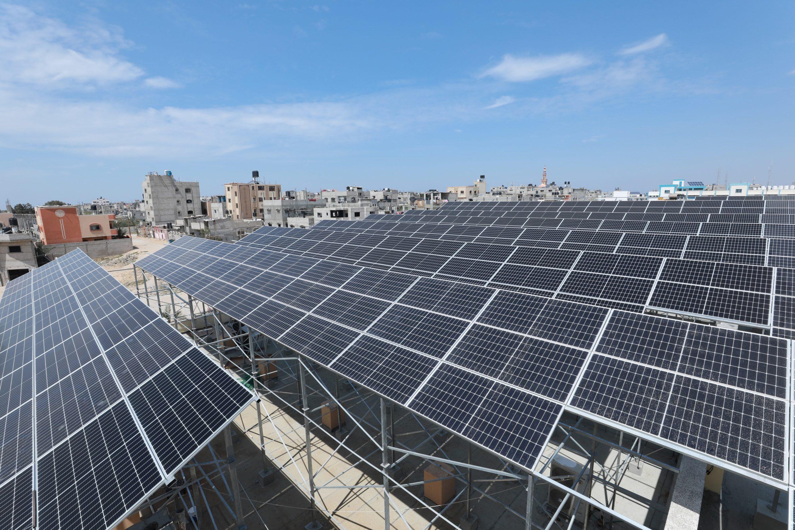Solar energy revives Gaza hospital