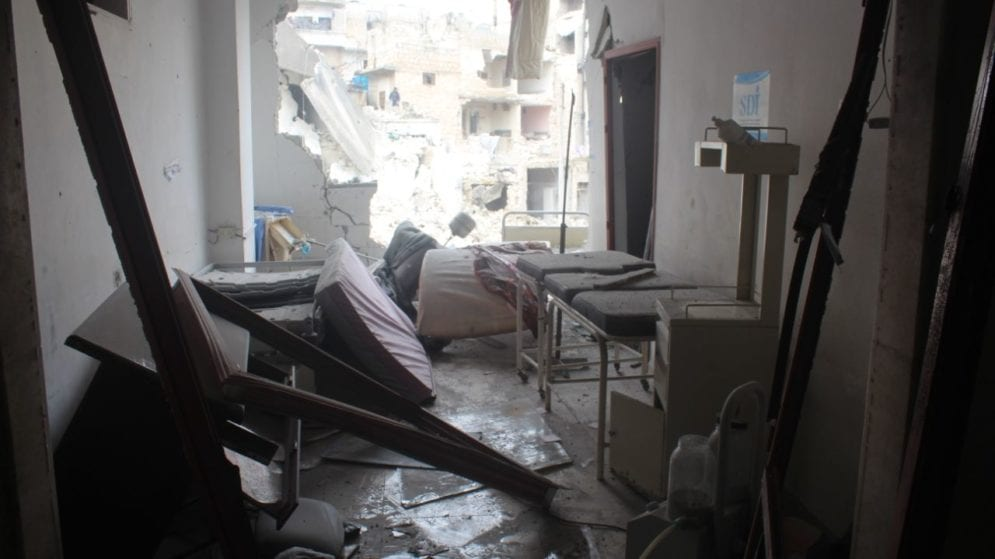 Hospitals in Syria