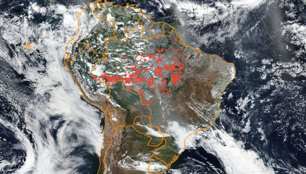 quemas amazonia by INPE
