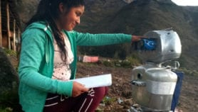 Robot hikes the Andes to cross Peru's digital divide